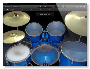 garageband drumkit screenshot